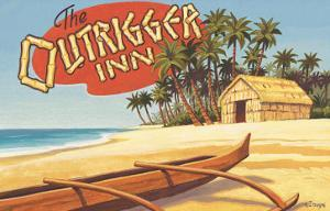 Outrigger Inn, Hawaii by Kerne Erickson