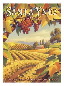 Santa Ynez Valley by Kerne Erickson