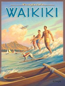 Surfride Waikiki by Kerne Erickson