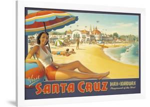 Visit Santa Cruz by Kerne Erickson