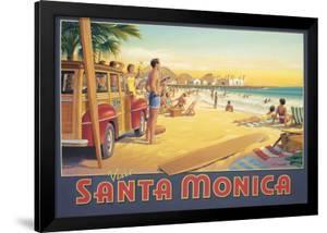 Visit Santa Monica by Kerne Erickson