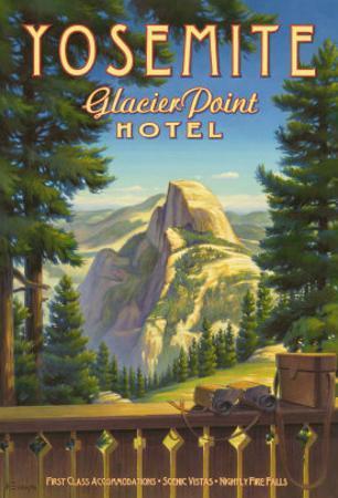 Yosemite, Glacier Point Hotel