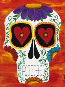 Fire Sugar Skull by Kerri Ambrosino