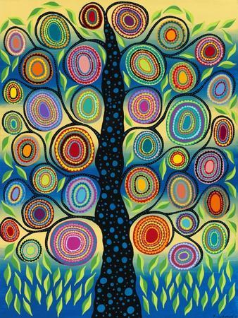 Pastel Tree of Life