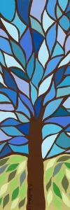 Tree of Life - Blue by Kerri Ambrosino