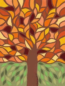 Tree of Life - Orange by Kerri Ambrosino