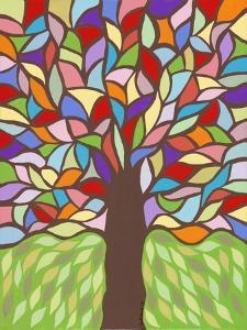 Tree of Life - Rainbow I by Kerri Ambrosino