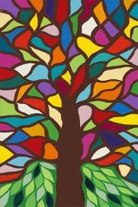 Tree of Life - Rainbow II by Kerri Ambrosino