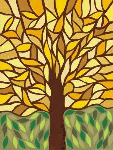 Tree of Life - Yellow by Kerri Ambrosino