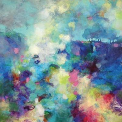 Blue Trees by Kerri Blackman