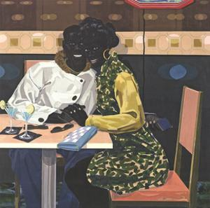 Untitled (Club Couple 2014) by Kerry James Marshall