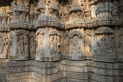 Keshava Temple Houses Friezes of Animals and Humans, and Sculptures of Hindu Gods-Kelley Miller-Photographic Print