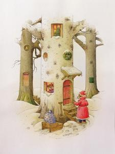 Bear Father Christmas, 1999 by Kestutis Kasparavicius