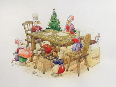 Duck's Christmas, 1999