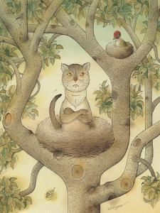 Flying Cat, 1005 by Kestutis Kasparavicius