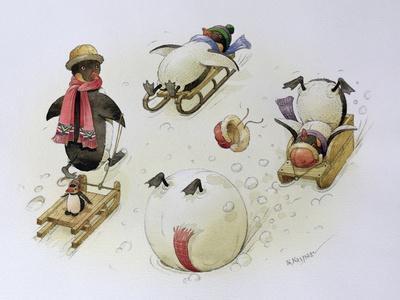 Penguins Sledging, 1999