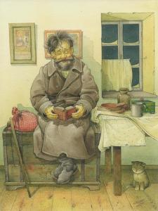 Russian Scene 05, 1994 by Kestutis Kasparavicius