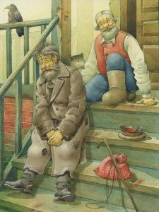 Russian Scene 08, 1994 by Kestutis Kasparavicius