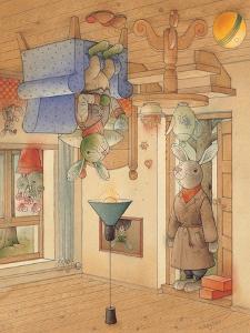 Two Rabbits, 2005 by Kestutis Kasparavicius