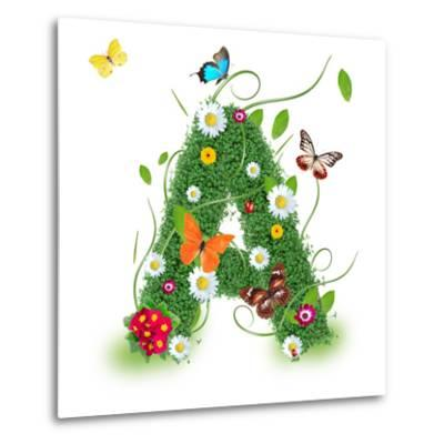 """Beautiful Spring Letter """"A"""""""