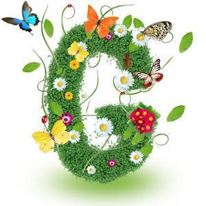 "Beautiful Spring Letter ""G"" by Kesu01"