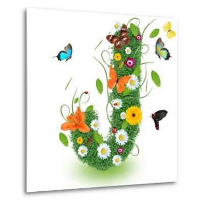 """Beautiful Spring Letter """"J"""""""
