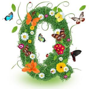 "Beautiful Spring Letter ""Q"" by Kesu01"
