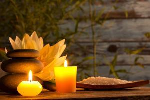 Spa Still Life with Aromatic Candles by Kesu01