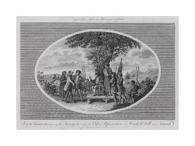 Ket the Tanner Haranguing the Insurgents under the Oak of Reformation at Moushold Hill Near Norwich--Giclee Print