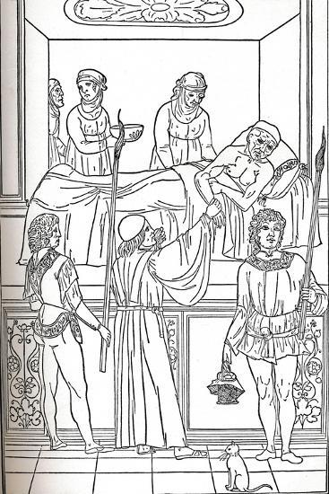 'Ketham: Fasciculus Medicinae, Venice, 1493, The Treatment Of The Plauge', c1493-Unknown-Giclee Print