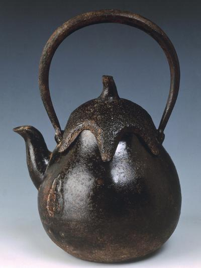 Kettle for Tea in Shape of Eggplant--Giclee Print