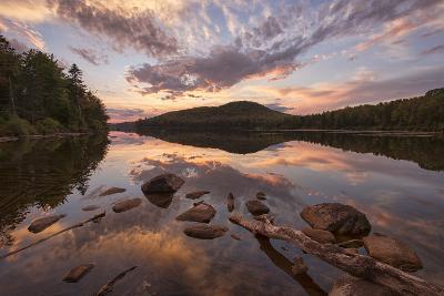Kettle Pond Sunset-Michael Blanchette-Photographic Print