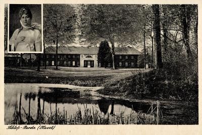 Ketzin Havel,Schloss Paretz,Königin Luise V. Preußen--Giclee Print