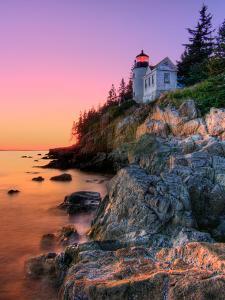Pastel Bass Harbor Lighthouse by Kevin A Scherer