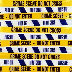 Crime Scene Tape by Kevin Curtis
