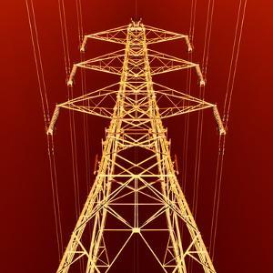 Electricity Pylon by Kevin Curtis