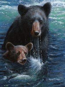 Bearly Swimming by Kevin Daniel