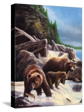 Grizzlies by Falls