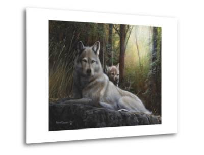 Recumbent Wolves
