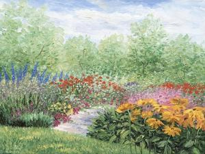 Impressionistic Garden by Kevin Dodds