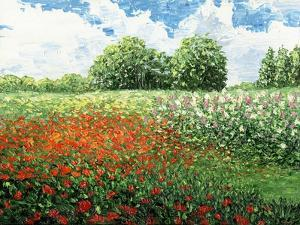 Impressionists Garden by Kevin Dodds