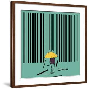 Barcode by kevin hill illustration