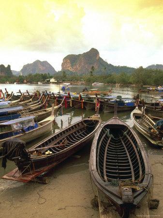 Fishing Boats, Krabi, Thailand