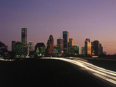 Night Skyline, Houston, Texas