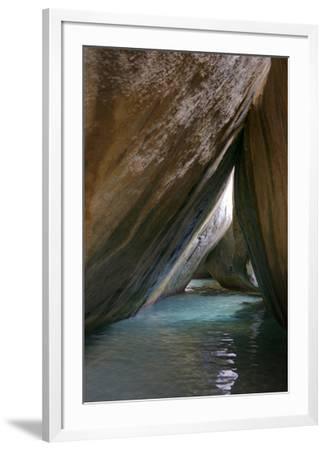 Caribbean, Virgin Gorda. Passageway Through Giant Boulders. the Baths
