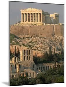 Acropolis and Parthenon, Athens by Kevin Schafer