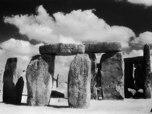 Stonehenge and Cloudy Sky by Kevin Schafer