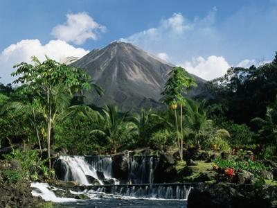 Tabacon Hot Springs and Volcan Arenal by Kevin Schafer