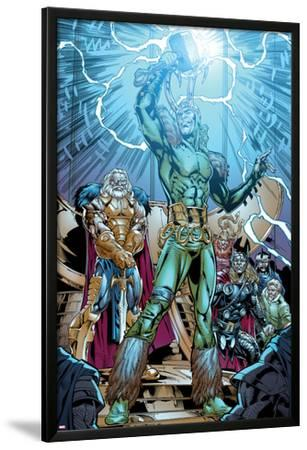 Marvel Adventures Super Heroes No.19: Loki Standing with Mjolnir