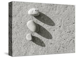 Three Pebbles on Granite by Kevin Walsh